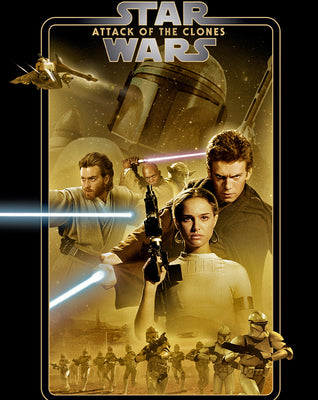 Star Wars: Attack Of The Clones (2002) [Ports to MA/Vudu] [iTunes 4K]