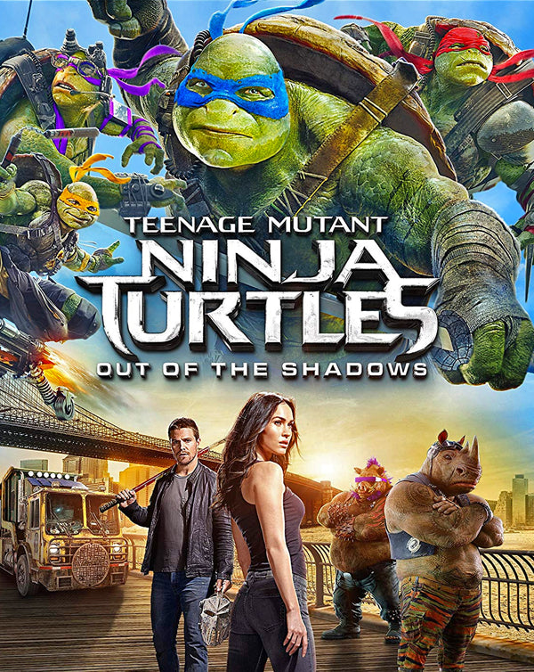 Teenage Mutant Ninja Turtles: Out Of The Shadows (2016) [iTunes 4K]