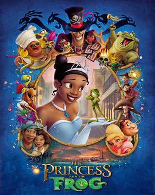 The Princess And The Frog (2009) [Ports to MA/Vudu] [iTunes 4K]