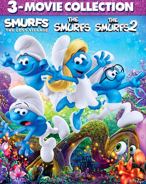 The Smurfs 3 Movie Collection (2011,2013,2017) [MA HD]