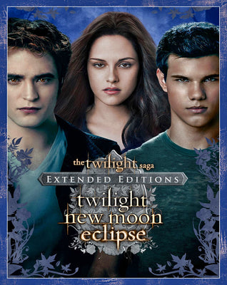 The Twilight Saga Triple Feature - Extended Editions (2008,2009,2010) [Vudu HD]