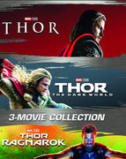 Thor Triple Feature 3 Movie Collection Bundle (2011,2013,2017) [GP HD]