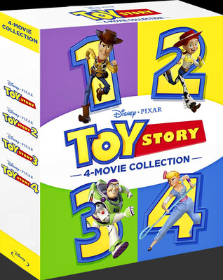 Toy Story 1-4 Collection (1995-2019) [MA 4K]