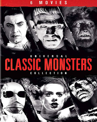Universal Classic Monsters Collection (1931-1941) [6 Pack] [MA HD]