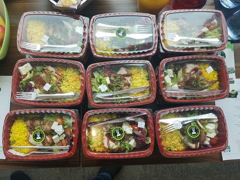 Corporate catering leeds wakefield LD Nurtrition meal prep