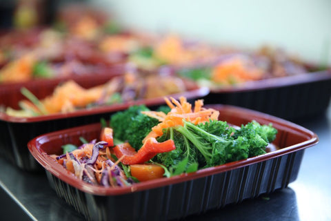 Freshly prepared meals by professional chefs at LD Nutrition