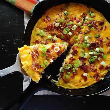 Bacon and Cheddar Frittata