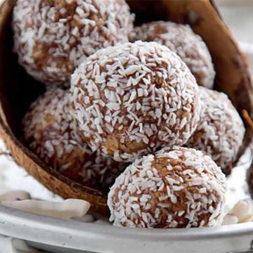 Coconut and Peanut Butter Protein Balls