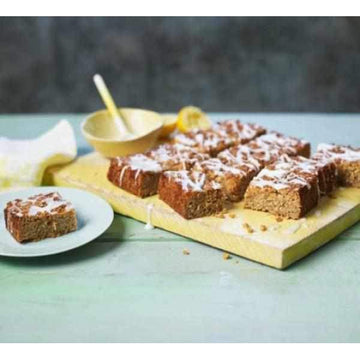 Lemon Drizzle Flapjacks