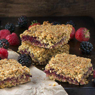 Mixed Berry Flapjack