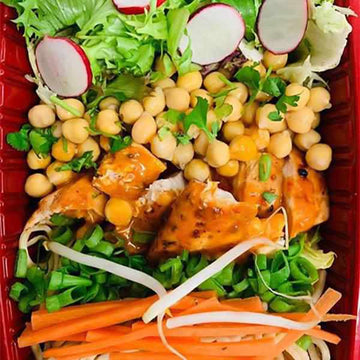 OnTheGo - Peri chicken with chickpeas and noodles