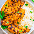 Easy Pick - Tandoori Turkey Steak with White Rice, Asparagus and Kale