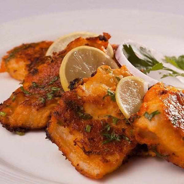 Large Tikka Spiced White Fish