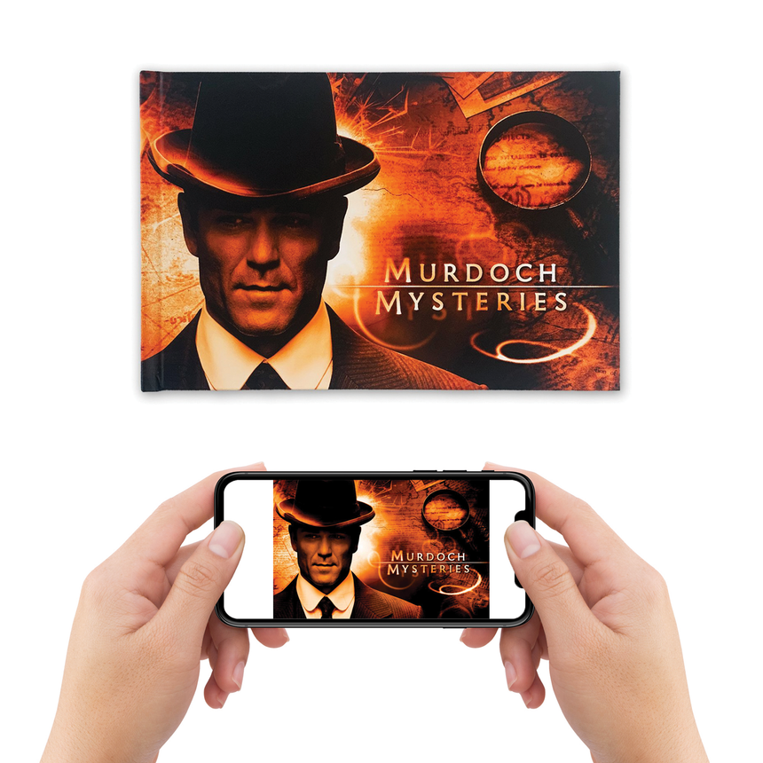 200th Episode E-Book | For iBooks, PlayBooks, OneDrive, and other readers | Murdoch Mysteries
