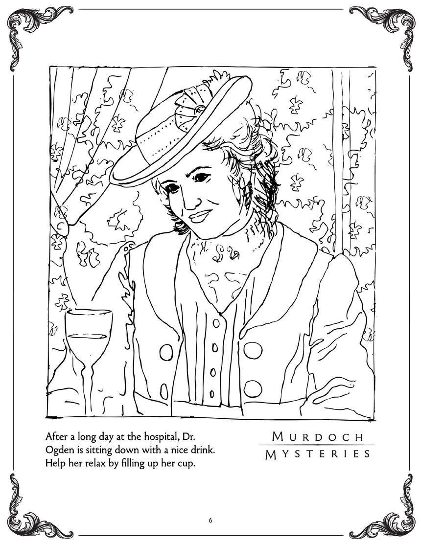Free Activity Book Download | Murdoch Mysteries