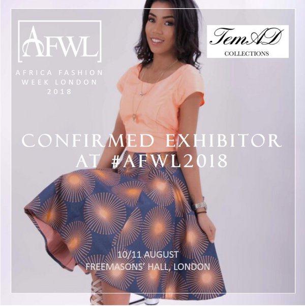 temad collections fashion show ankara african print fashion afwl