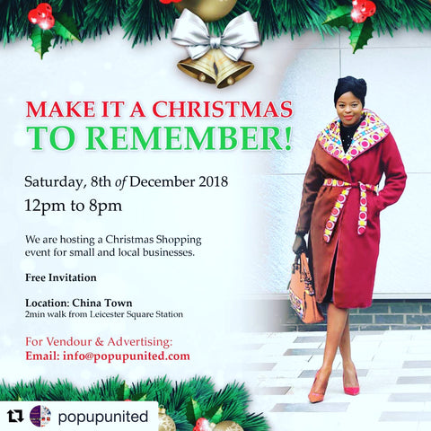 Pop-up UNITED - A Christmas shopping experience and networking event
