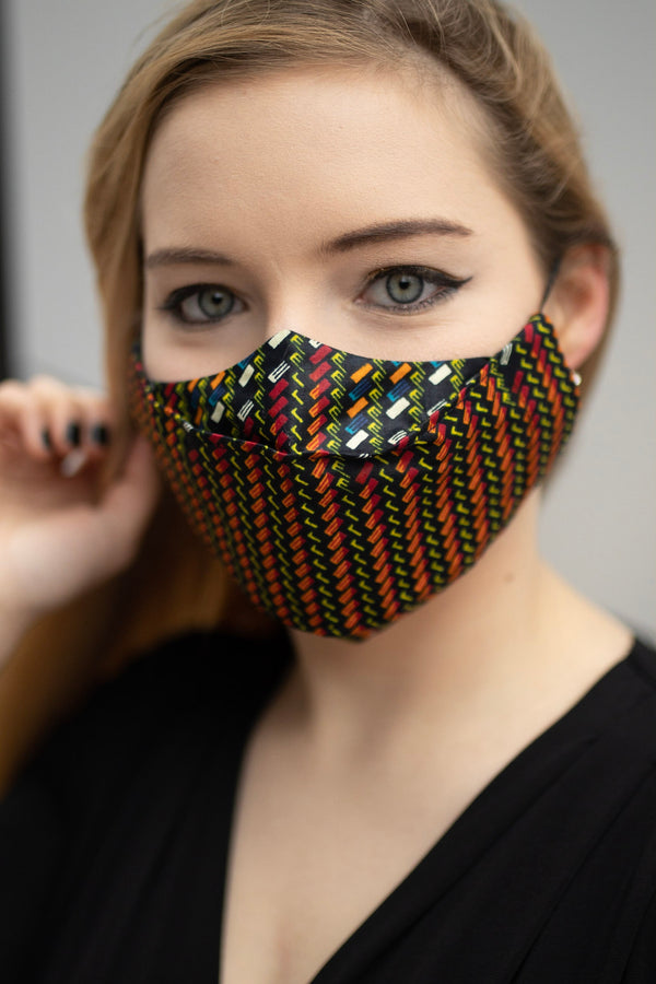 TemAD African  print Ankara Facemask in UK