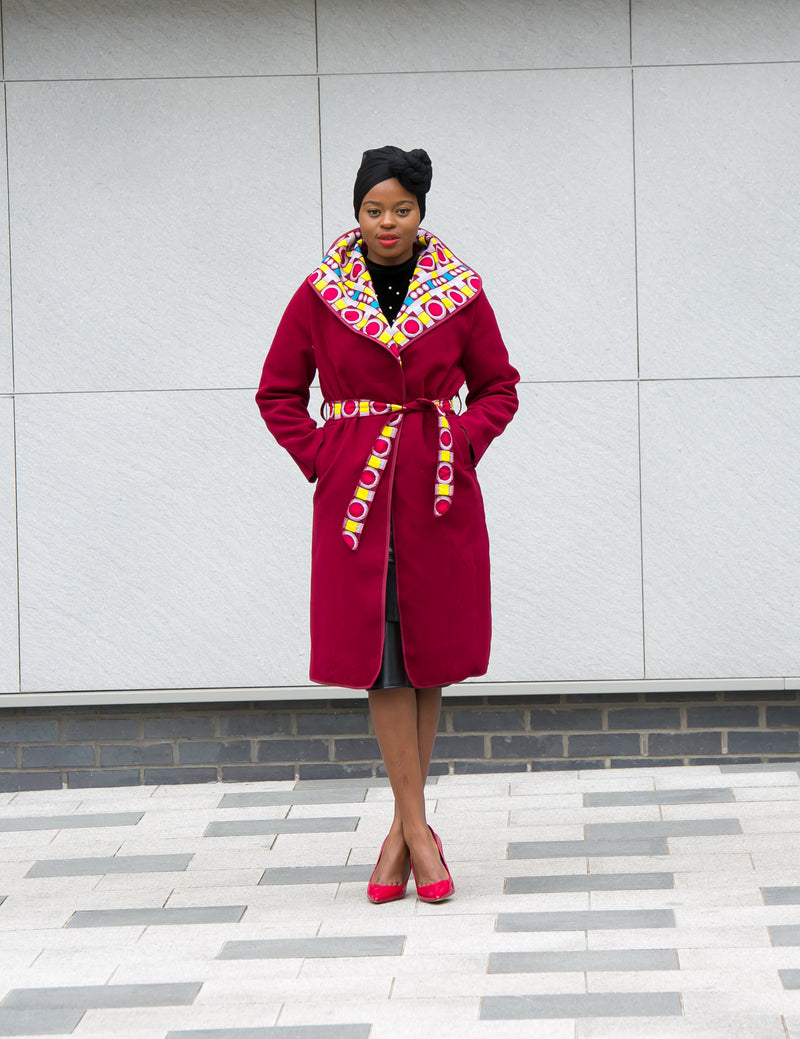 african print ankara coat waterfall jacket temadcollections duster jacket