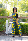 Ferrate yellow jumpsuit