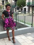 African print Ankara  skirt and top