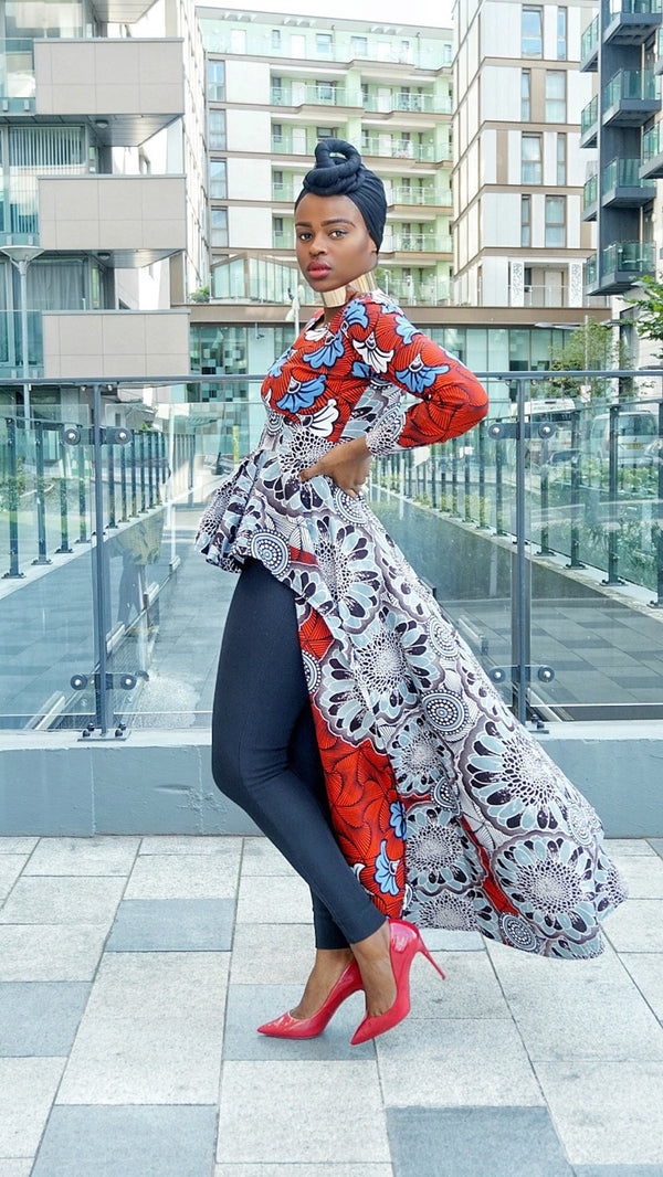African print Ankara  dress top