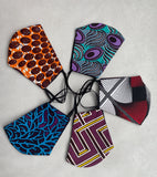 African print face mask- Pack of 3