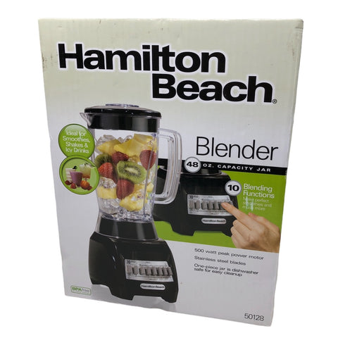 Hamilton Beach 48 oz. Capacity Jar Blender Model # 50128