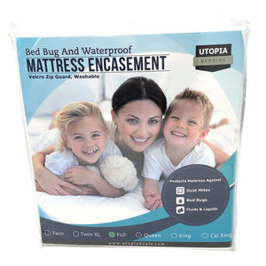Utopia Bedding Zippered Mattress Encasement (Full)