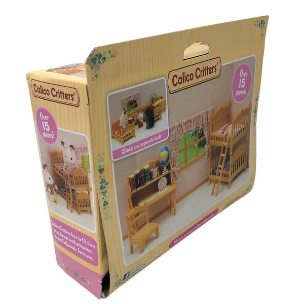 Calico Critters Children's Bedroom Set W/Bunk Beds, CC1807