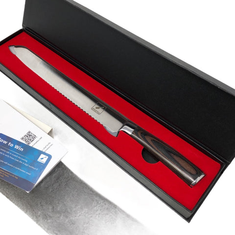 "Imarku 10"" Bread Knife"