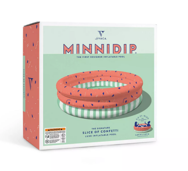 Minnidip Slice of Confetti Kiddie Pool