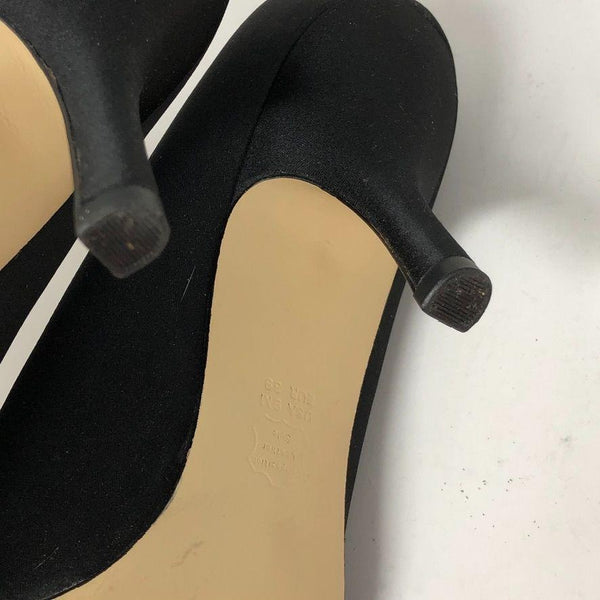 "Fello Black Dress Pumps sz9 3"" heel"