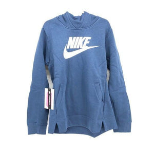 Nike blue girls hoodie medium