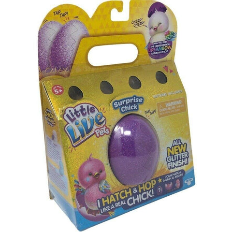 Little Live Pets Surprise Chick Purple Egg Glitter Finish *New in Package*