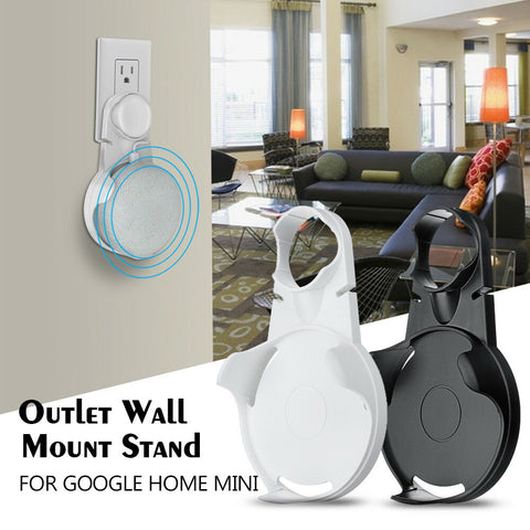 Google Home Mini Assistants Outlet Wall Mount Holder Stand