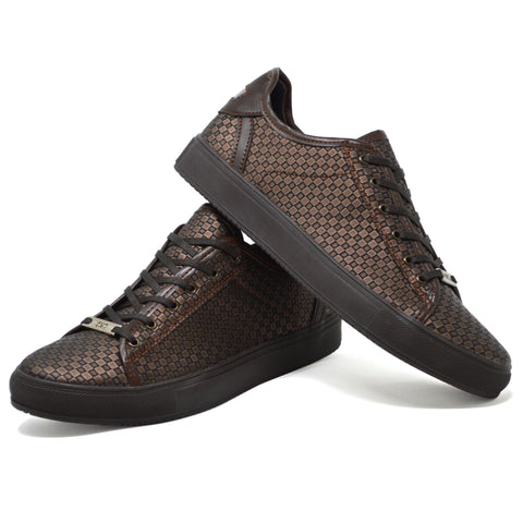 Picture of Mens New Brown Smart Casual Skate Fashion Trainers