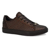 Mens New Brown Smart Casual Skate Fashion Trainers