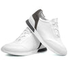 Mens White Smart Casual Work Gym Tennis Lace Up Trainers