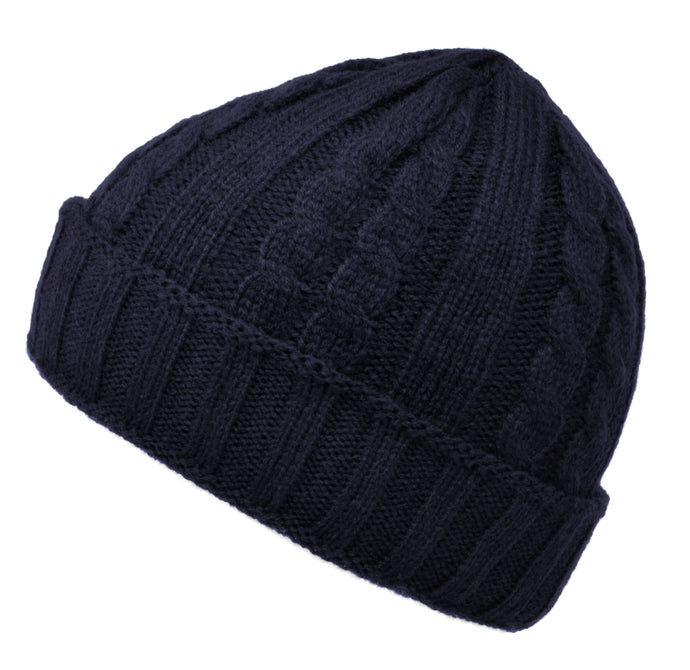 Cable Knit Hats - Available in 10 Colours