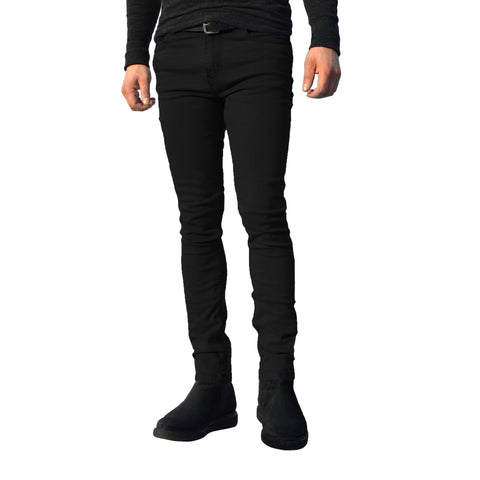 Picture of Mens Black G72 Denim Stretch Skinny Slim Fit Jeans