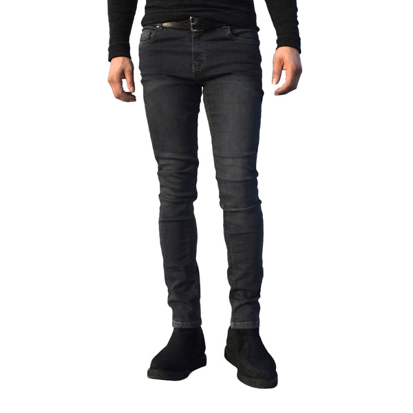 Mens Grey G72 Denim Stretch Skinny Slim Fit Jeans