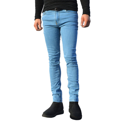 Picture of Mens Stone Wash G72 Denim Stretch Skinny Slim Fit Jeans