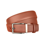 Light Brown Leather Reversible Belt