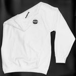 Sweat-shirt blanc blanc LOGO