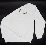 Sweat-shirt blanc B&W