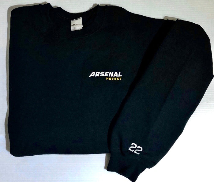 Crewneck noir Arsenal Hockey