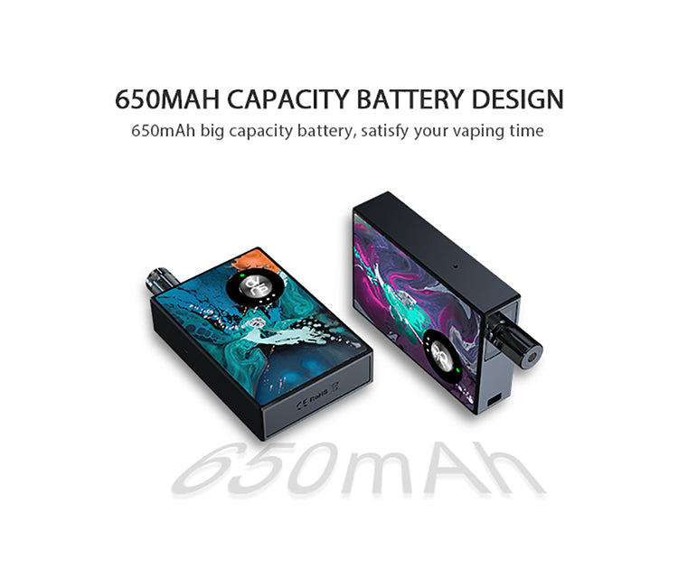 Ovns JC02 pod battery 650mAh