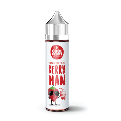 Cool Fruits Strawberry E-liquid E-Juice - Flava Hub