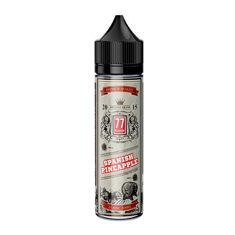 Classic 77 Flavor Spanish Pineapple E-liquid E-Juice - Flava Hub